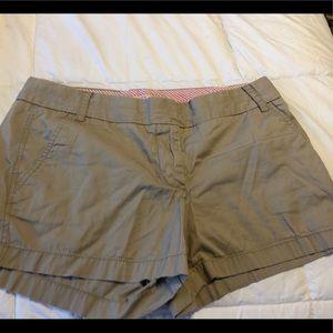 Women's J Crew Chino shorts Size 8